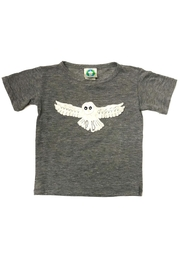 Precious Few on Earth Gray Owl T-Shirt - Front cropped