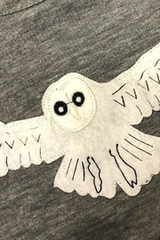 Precious Few on Earth Gray Owl T-Shirt - Front full body