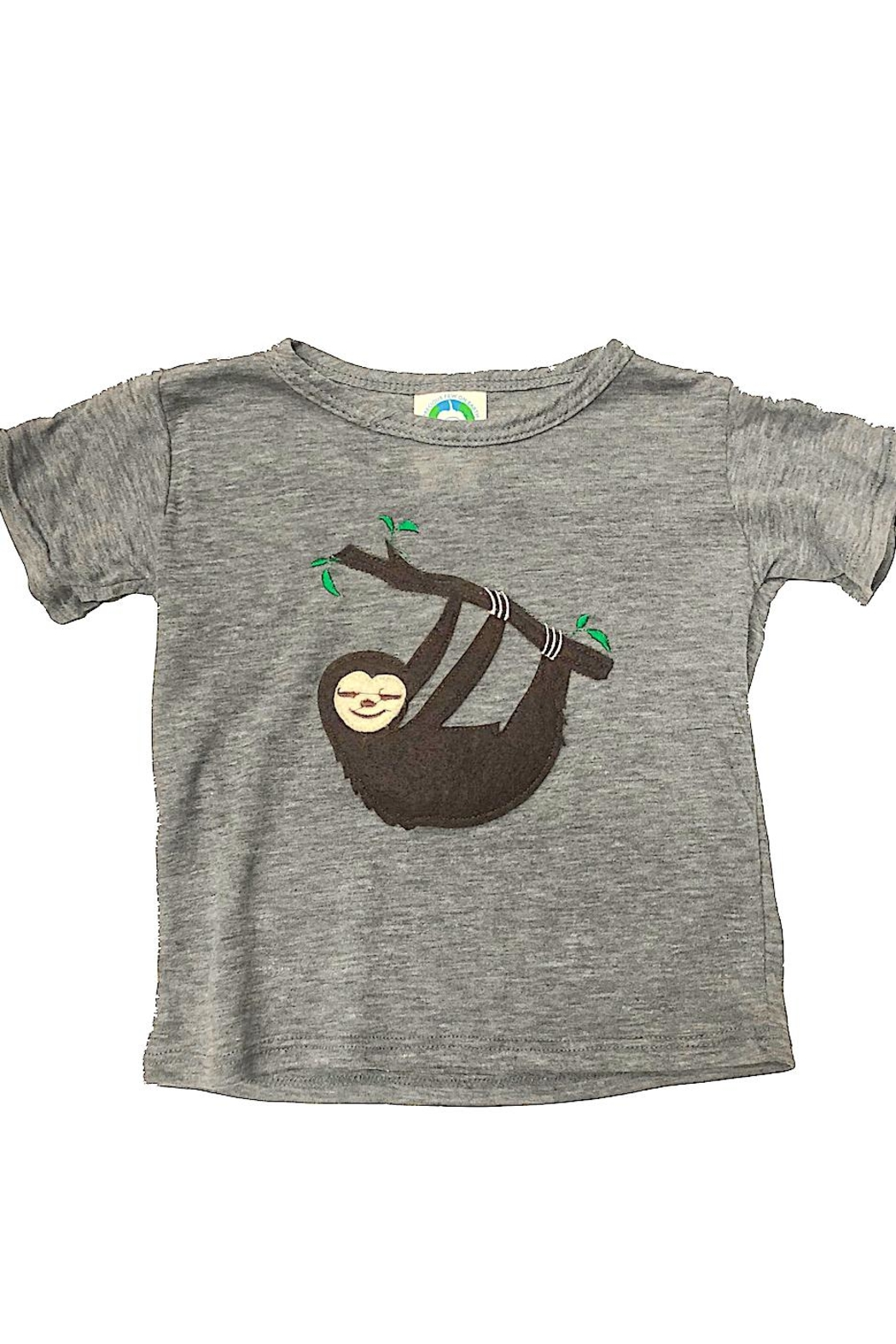Precious Few on Earth Gray Sloth T-Shirt - Front Cropped Image