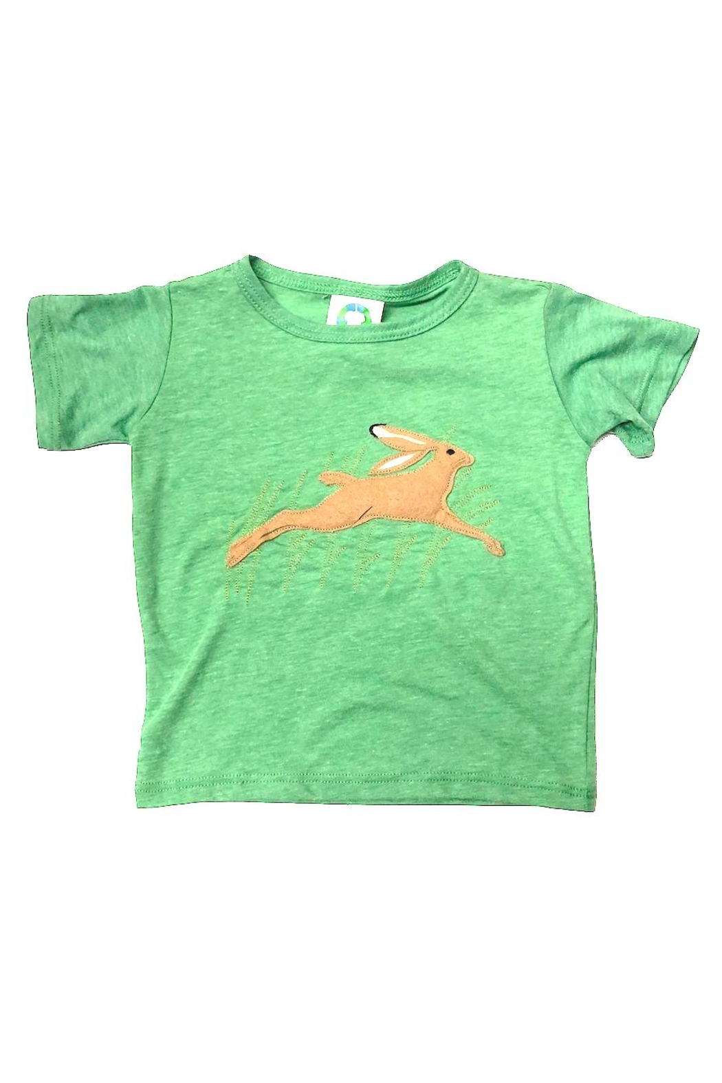 Precious Few on Earth Green Bunny T-Shirt - Front Cropped Image