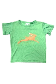 Precious Few on Earth Green Bunny T-Shirt - Front cropped