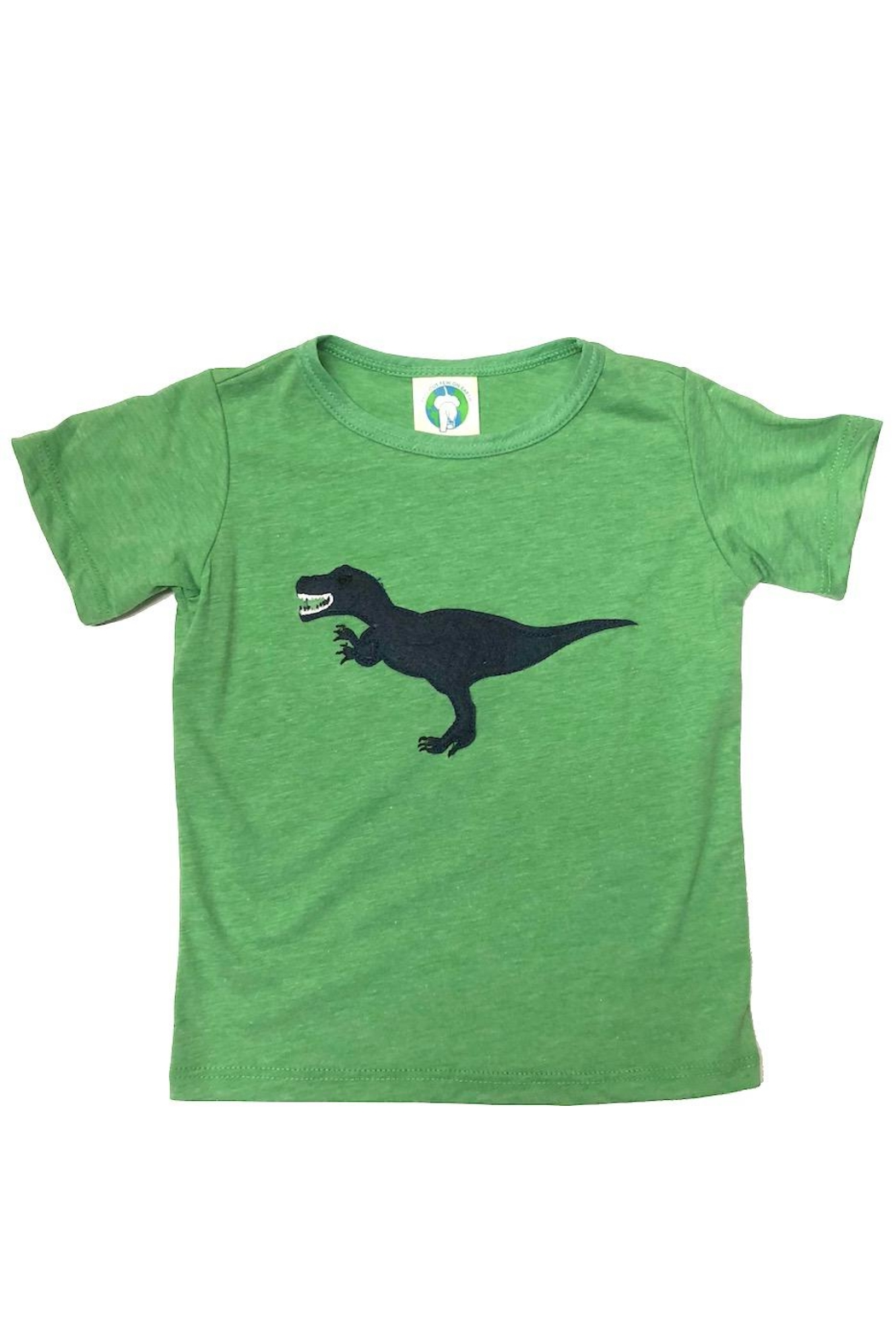 Precious Few on Earth Green T-Rex T-Shirt - Main Image