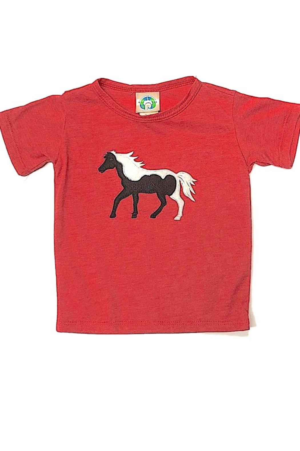 Precious Few on Earth Red Horse T-Shirt - Main Image