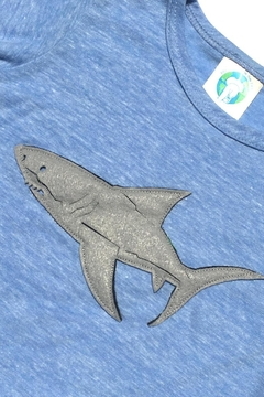 Precious Few on Earth Blue Shark T-Shirt - Alternate List Image