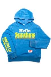 PREFRESH Hello Sunshine Hoodie - Front cropped