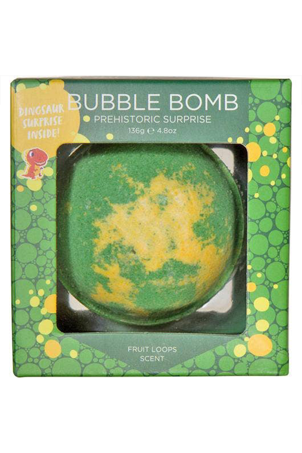 Two Sisters  Prehistoric Dinosaur Surprise Bubble Bath Bomb - Side Cropped Image