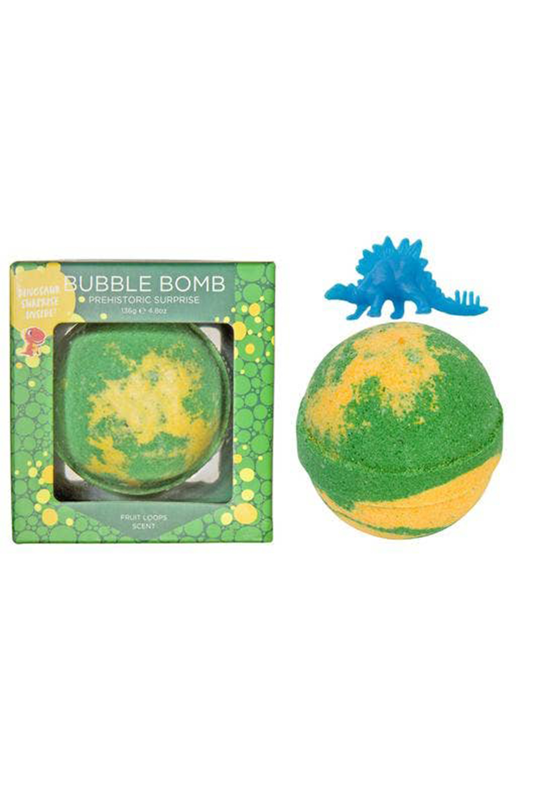 Two Sisters  Prehistoric Dinosaur Surprise Bubble Bath Bomb - Main Image