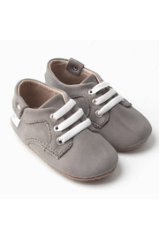Little Love Bug Company Premium Leather Lace Oxford - Front full body