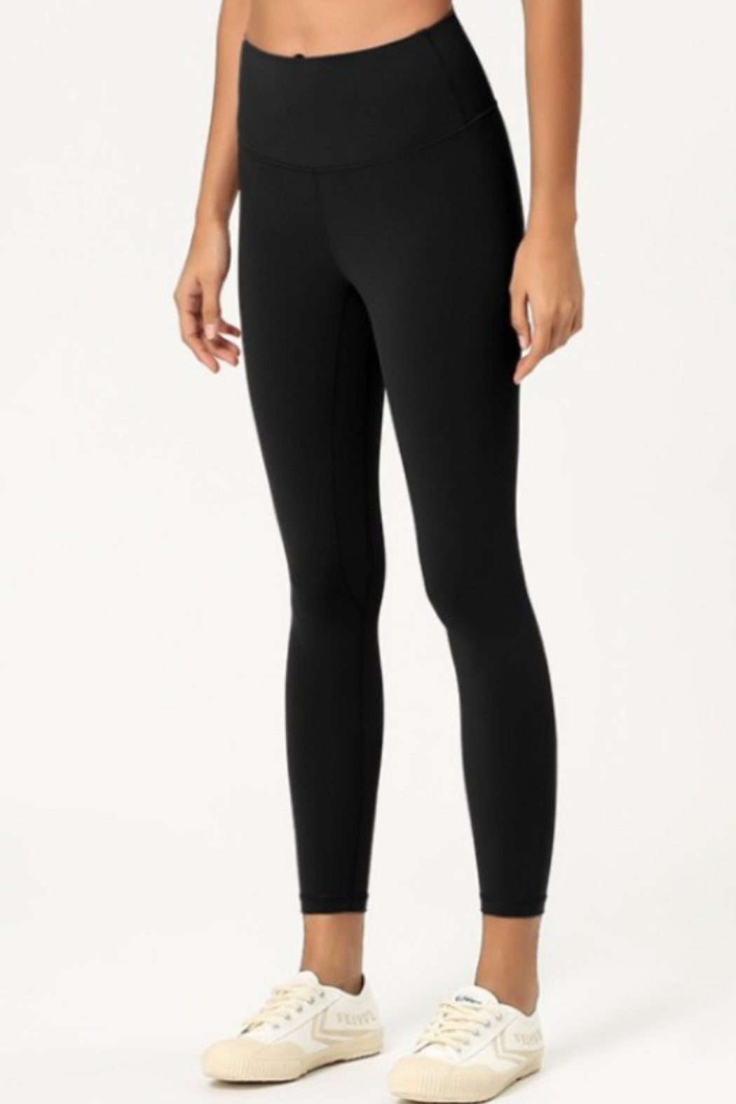THE FREE YOGA Premium High Waisted Leggings - Front Cropped Image