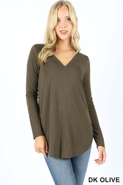 Zenana Outfitters Premium Long Sleeve - Front cropped