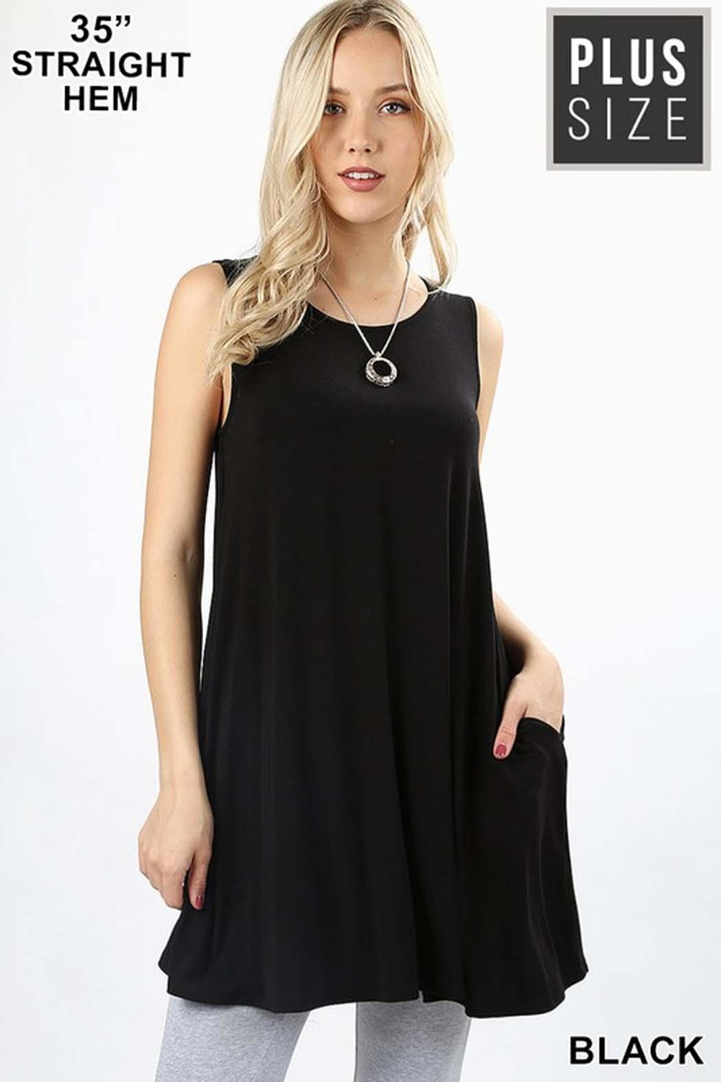 99901146546 Zenana Outfitters Premium Pocket Tunic from New York by Avenue A ...