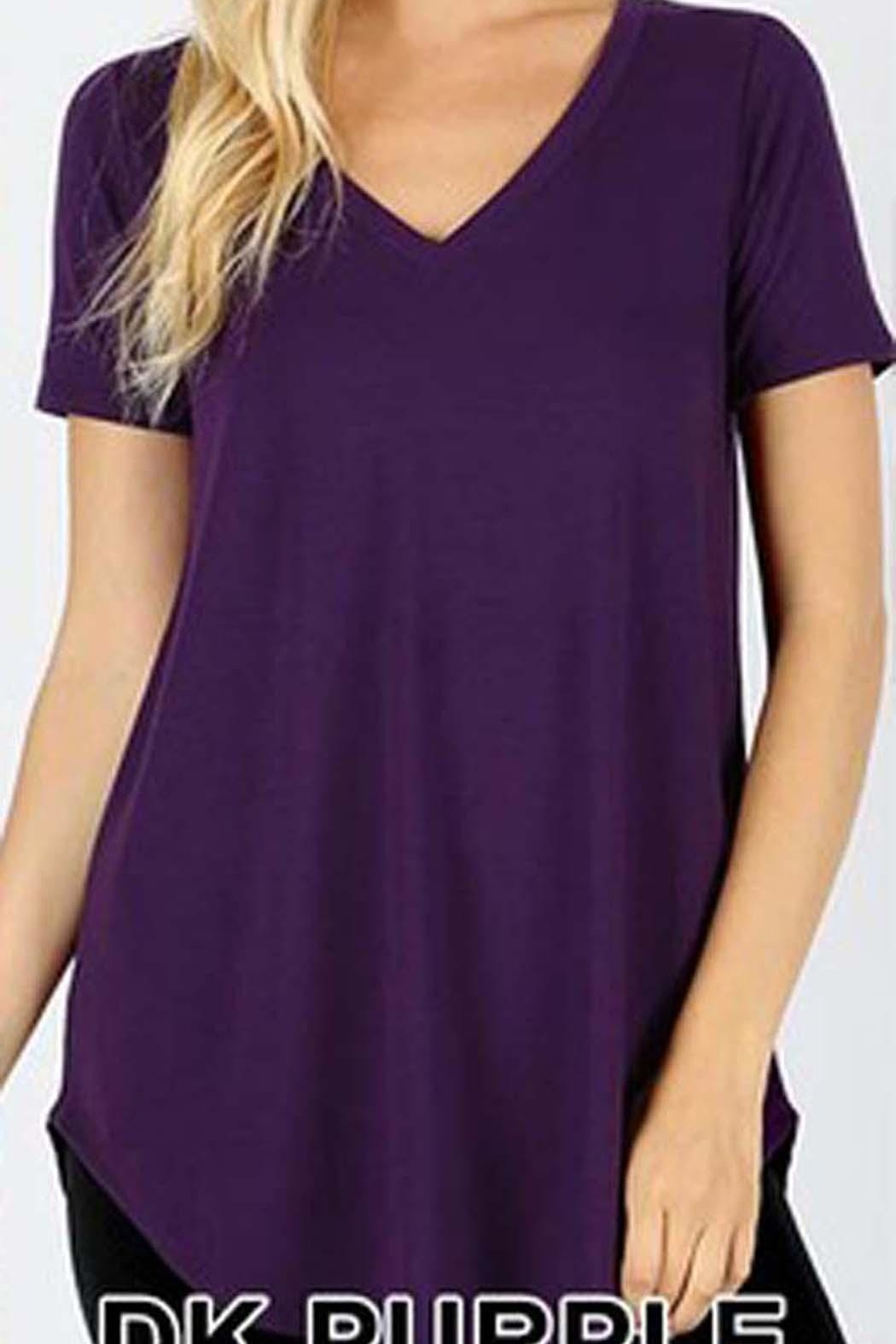 Zenana Outfitters Premium V-Neck Top - Main Image