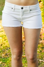 Rich & Skinny Premium White Shorts - Product Mini Image