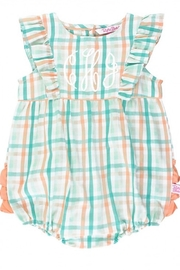 Ruffle Butts Presley Plaid Waterfall Bubble - Other