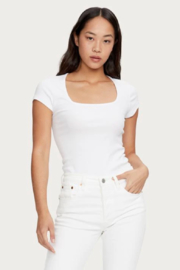Michael Stars Presley Square Neck Tee - Front cropped