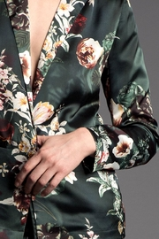 Press Floral Blazer - Front full body