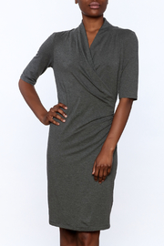 Press Jersey Wrap Dress - Product Mini Image