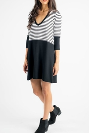 Press Stripe Soft Dress - Product Mini Image