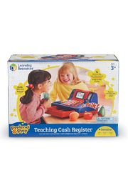 Learning Resources Pretend & Play Teaching Cash Register - Front full body