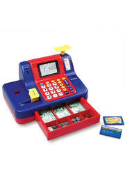 Learning Resources Pretend & Play Teaching Cash Register - Front cropped