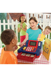 Learning Resources Pretend & Play Teaching Cash Register - Back cropped