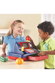 Learning Resources Pretend & Play Teaching Cash Register - Side cropped