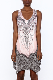 Pretty Angel Printed Bling Dress - Side cropped