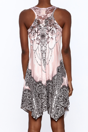 Pretty Angel Printed Bling Dress - Back cropped