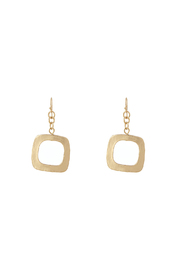 Pretty Edgy Square Earrings - Product Mini Image