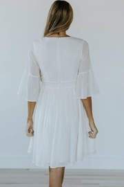 Roolee Pretty Embroidered Dress - Back cropped