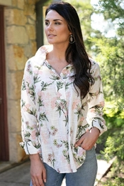 Sharon Young Pretty Embroidered Popover - Product Mini Image
