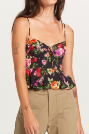 Olivaceous  Pretty Floral Tank - Product Mini Image