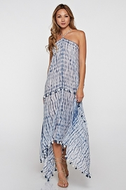 Love Stitch Pretty in Blue Halter Maxi - Product Mini Image
