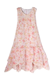 Isobella and Chloe Pretty-In-Pink Dress - Front full body
