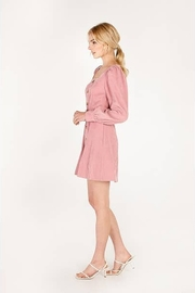 Moodie Pretty in Pink Dress - Side cropped