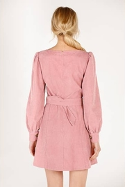 Moodie Pretty in Pink Dress - Front full body