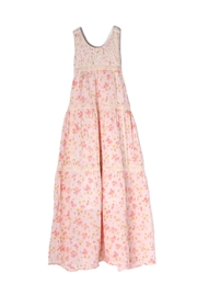 Isobella and Chloe Pretty-In-Pink Maxi Dress - Front cropped