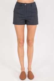 Very J Pretty In Pinstripe shorts - Product Mini Image