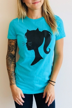 Shoptiques Product: Pretty Kitty Tee