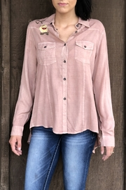 Nostalgia Pretty Pink Shirt - Front cropped