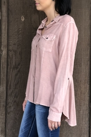 Nostalgia Pretty Pink Shirt - Front full body