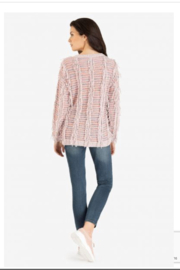 Tribal Pretty Pink Sweater - Front full body