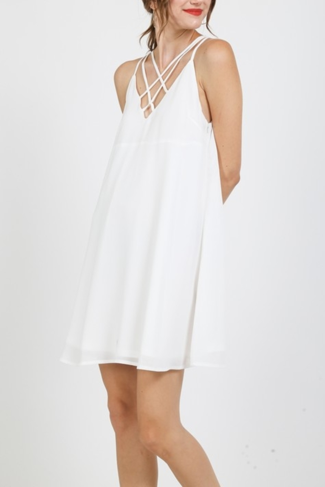 Very J Pretty Please dress - Front Full Image
