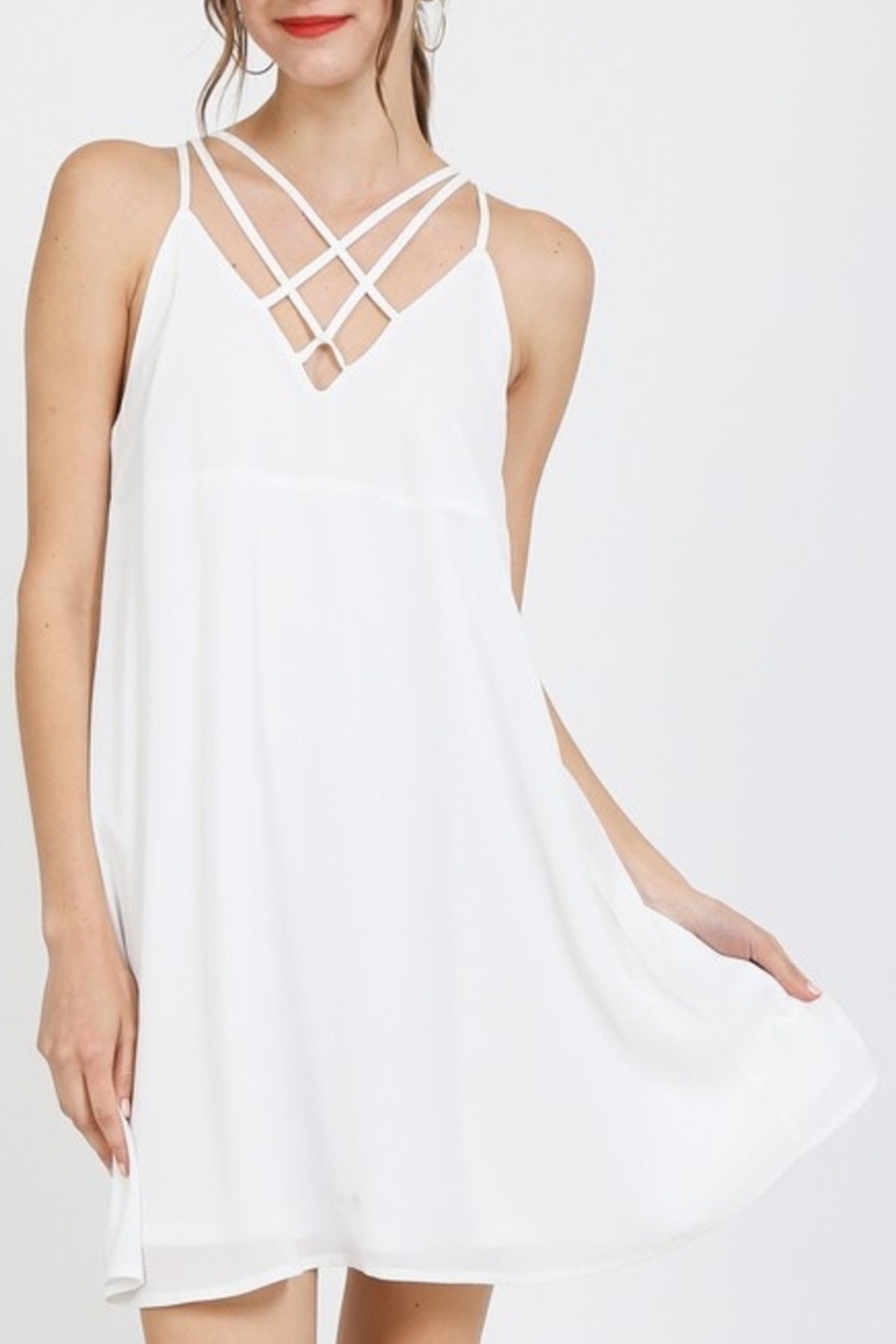 Very J Pretty Please dress - Front Cropped Image