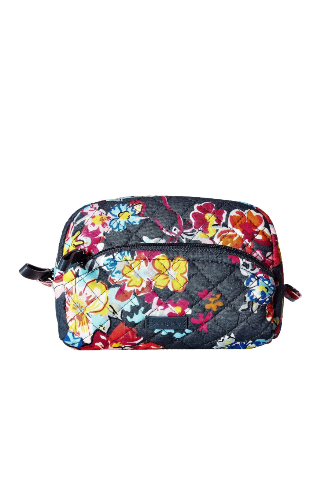 Vera Bradley Pretty Posies Mini Cosmetic Bag - Front Cropped Image