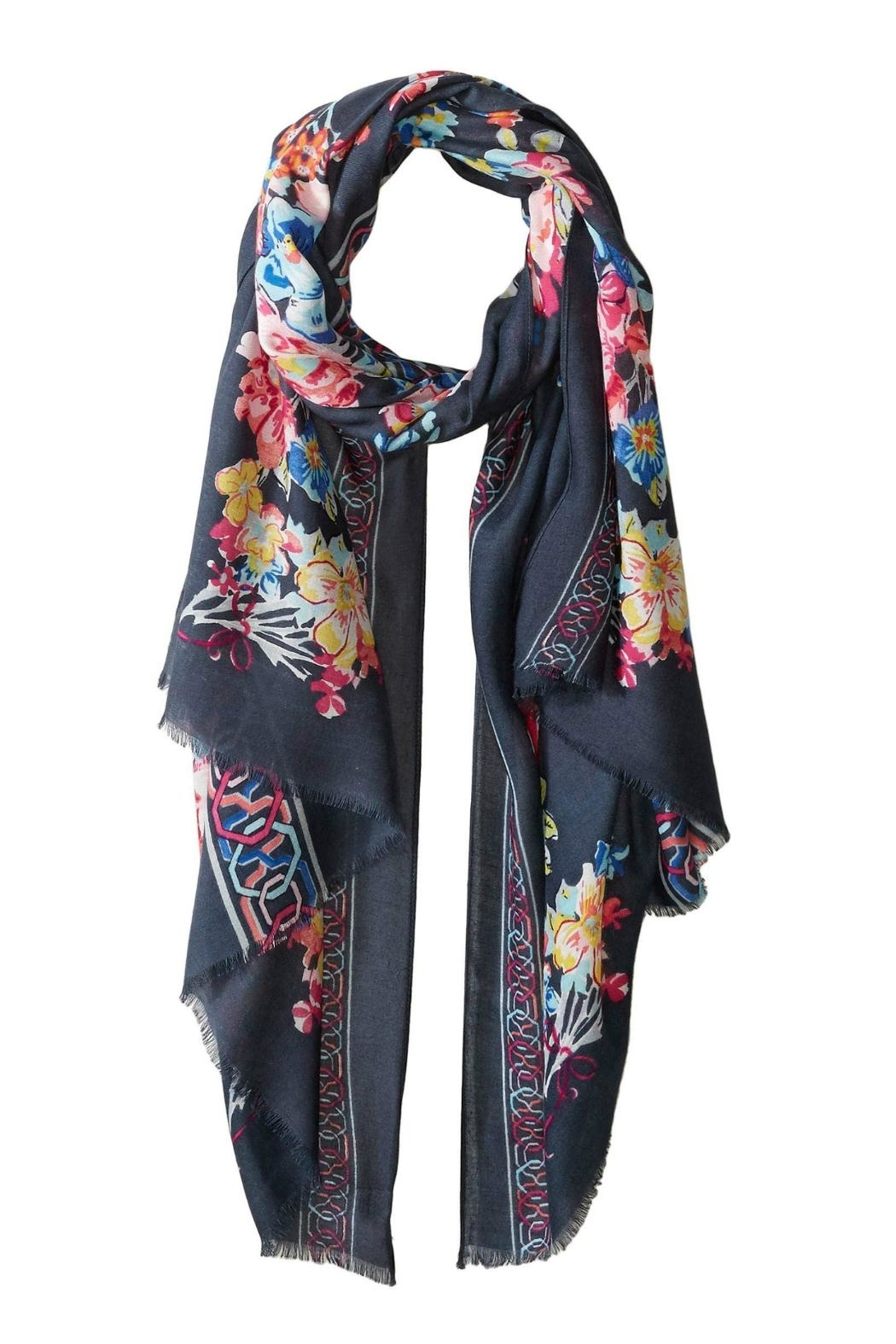 Vera Bradley Pretty Posies Scarf - Front Cropped Image