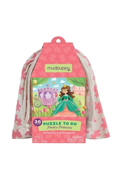Mudpuppy Pretty Princess Puzzle-To-Go - Product List Image