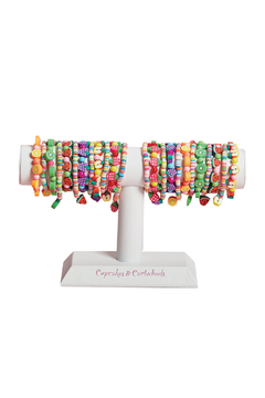Cupcakes and Cartwheels Pretty Sweet Fruit Bracelet - Alternate List Image
