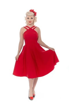 Rebel Love Clothing Pretty Woman Swing-Dress - Product List Image