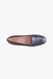 Pretty Ballerinas Navy Faye Loafers - Back cropped